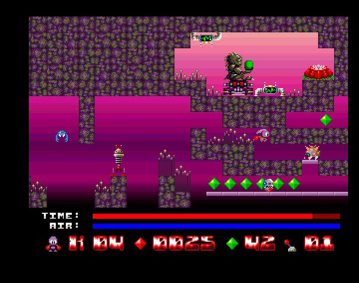 Sqrxz 2 Amiga OCS - Ingame 1