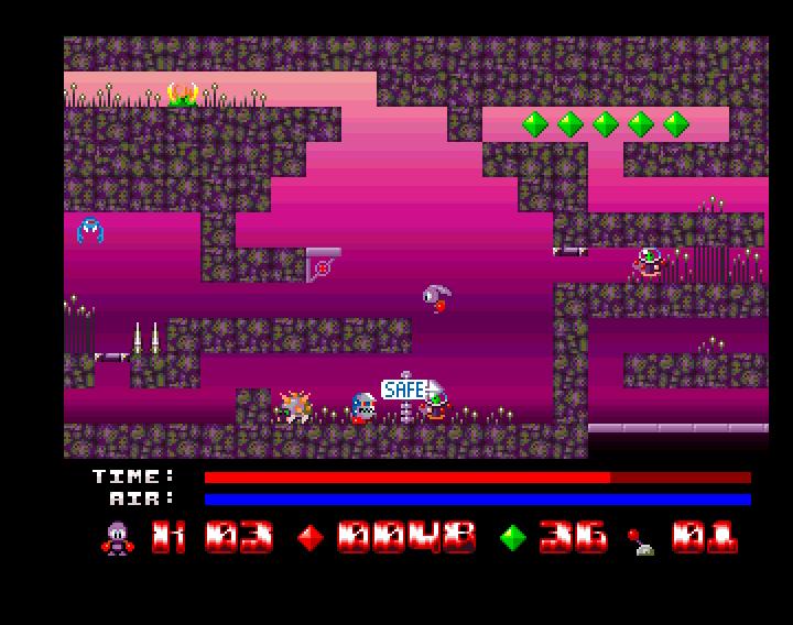 Sqrxz 2 Amiga OCS - Ingame 2
